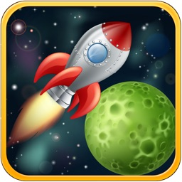 Racing in Space - games for kids