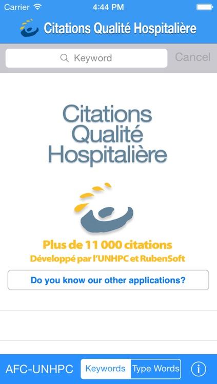 Citations Q-H (qualité hospitalière)