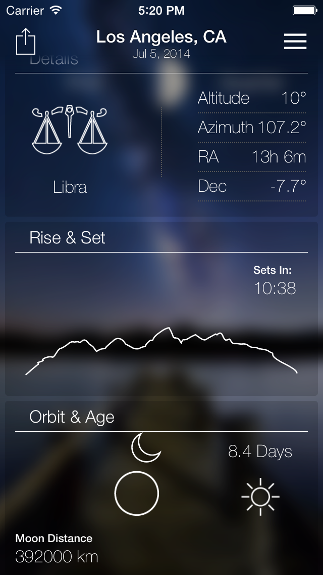 Lunar Live - Moon Weather Forecastのおすすめ画像3
