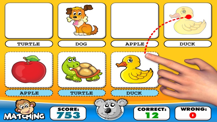 First Words 7+2 · Early Reading A to Z, TechMe Letter Recognition and Spelling (Animals, Colors, Numbers, Shapes, Fruits) - Learning Alphabet Activity Game with Letters for Kids (Toddler, Preschool, Kindergarten and 1st Grade) by Abby Monkey® screenshot-3