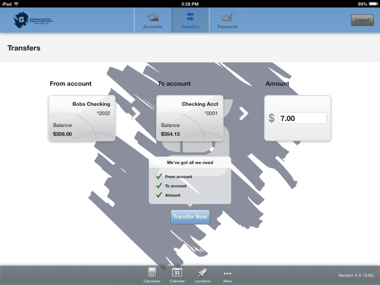 SWACU Tablet Banking screenshot-3