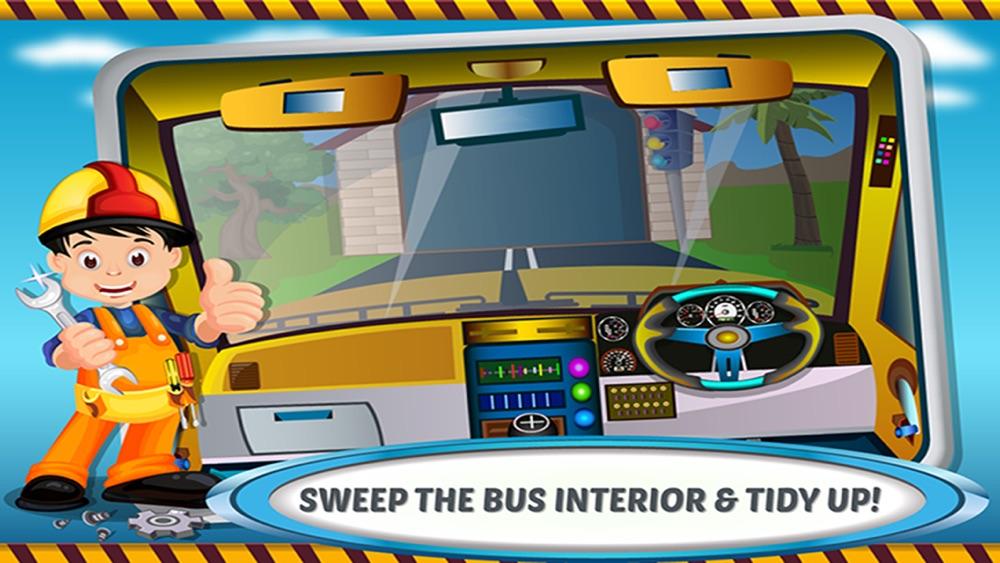 School Bus Wash & Garage – Little Car Salon, Summer Fun with Vehicle Spa Workshop for Paint, Vinyl, Colors, Soap, Clean Automobile Shop hack tool