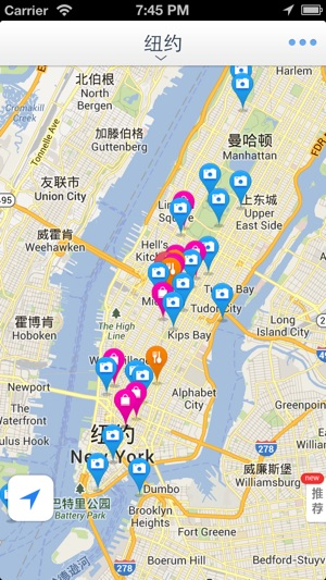 New York Offline Map(offline map, subway map, GPS, tourist ...