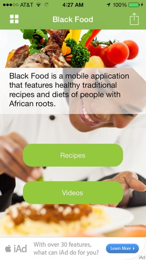 Black food african vegan soul food recipes on the app store screenshots forumfinder Image collections