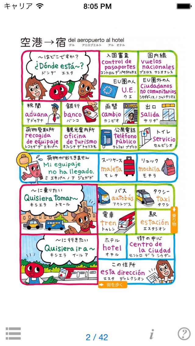 指さし会話スペイン touch&talk 【personal version】 ScreenShot1