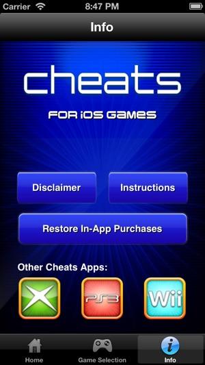 ios app cheats
