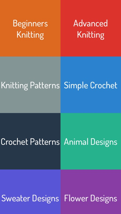 Knit & Crochet Guide - Ultimate video for Beginner, Intermediate and Advanced learner