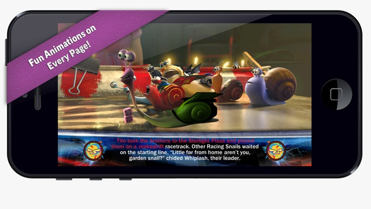 iStoryTime - Turbo Movie Storybook Deluxe screenshot-3
