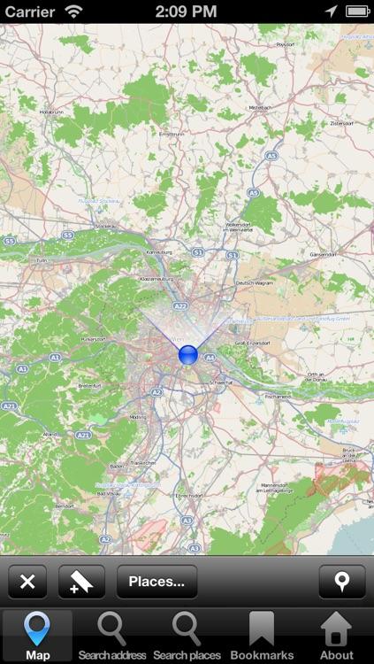 Offline Map Vienna, Austria: City Navigator Maps