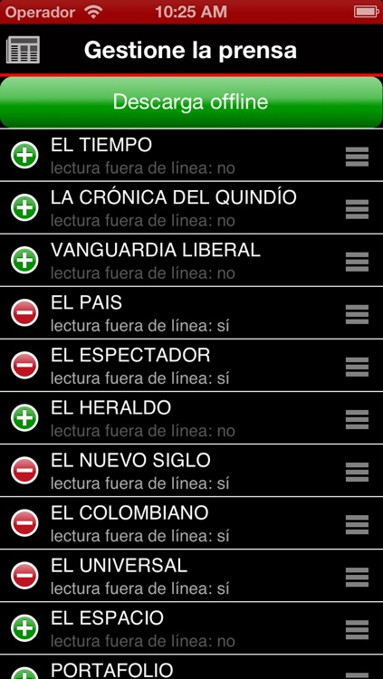 Periódicos Colombianos - Colombia Newspapers by sunflowerapps screenshot-3