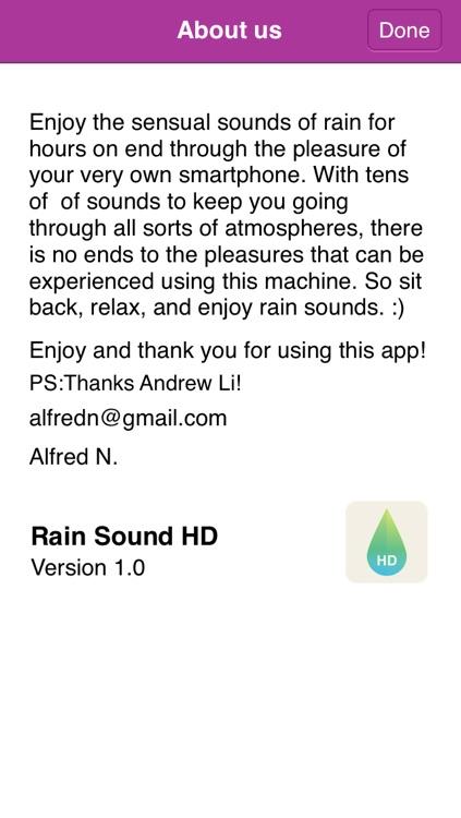 Rain Sounds HD screenshot-3