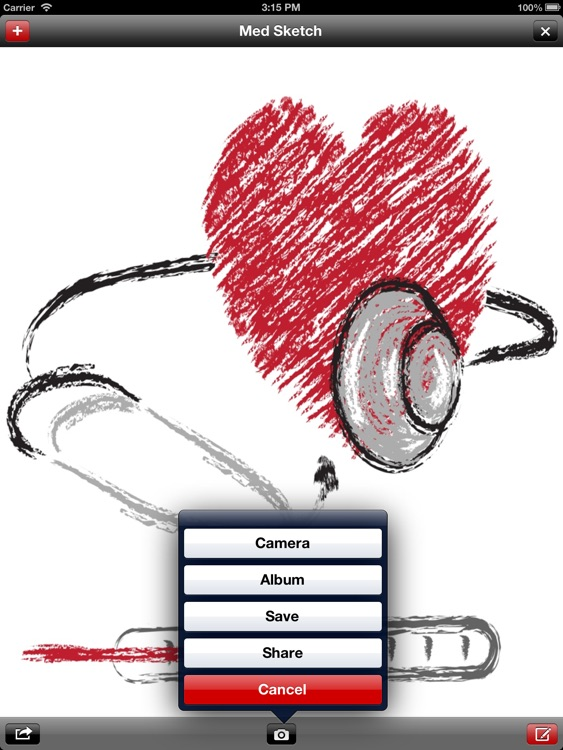 Med Sketch: Anatomy Drawing App for iPad screenshot-4