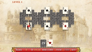 Palace Messenger Solitaire Free screenshot one