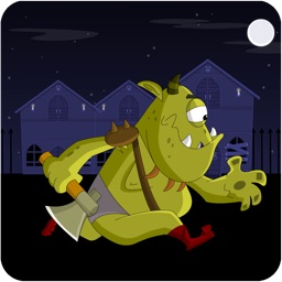 The Haunted Halloween Grave-Yard Ogre Hop Game