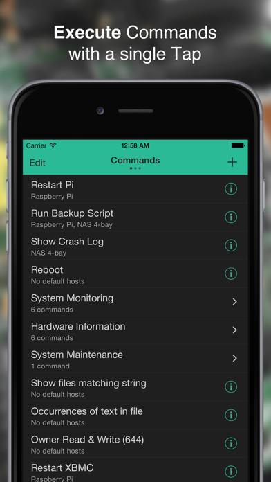 SimpleSSH - SSH Commands, File Viewer & Terminalのおすすめ画像1