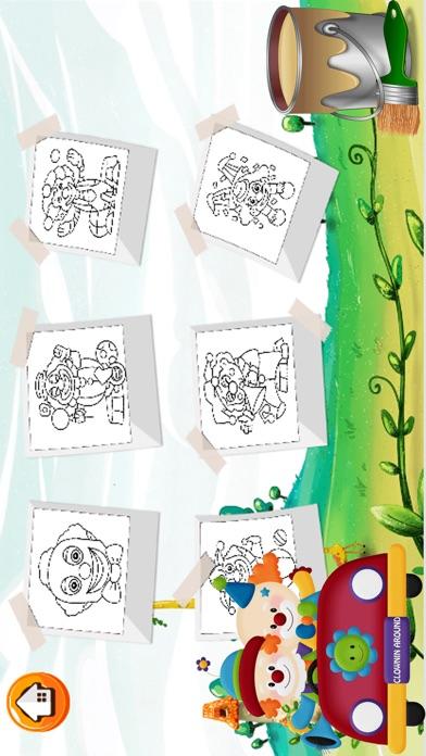 Circo libro para colorear para niños: Aprende a Dibujar la pintura ...