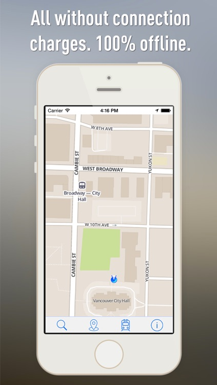Offline Map Vancouver - Guide, Attractions and Transports screenshot-4