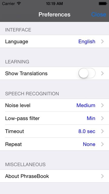 English-Spanish Talking Travel Phrasebook screenshot-3