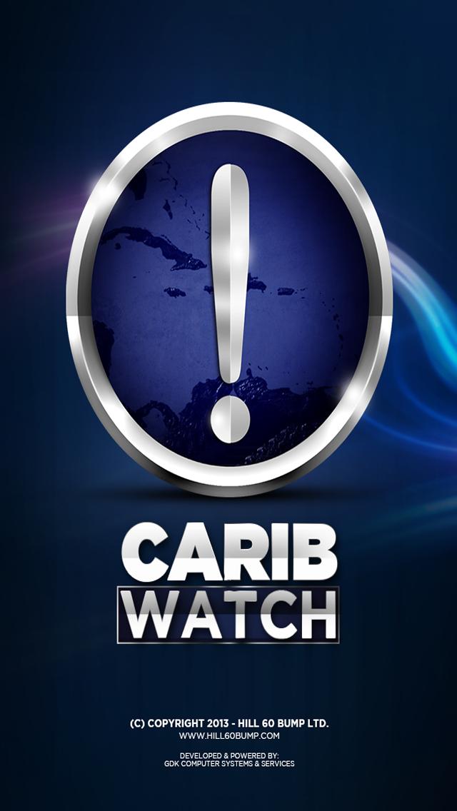 CaribWatch Caribbean Hurricane & Emergency Alerts screenshot one