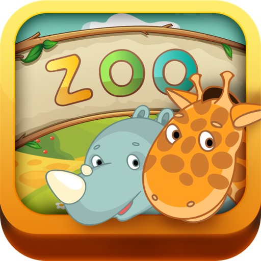 Kids: Zoo Animals Free - 3 in 1 Interactive Preschool Learning Game - Teach Toddler Real Sounds and Names of Wild Life, Jungle and Farm Pet Animal by ABC BABY icon