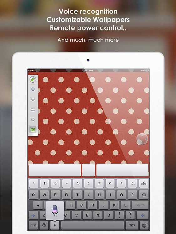 Remote Mouse FREE for iPad - wireless keyboard, trackpad, best remote for computer screenshot-4