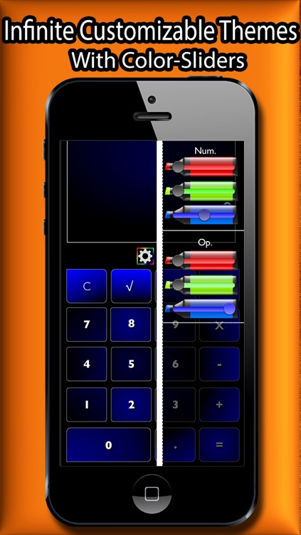 Colorful Calculator 7