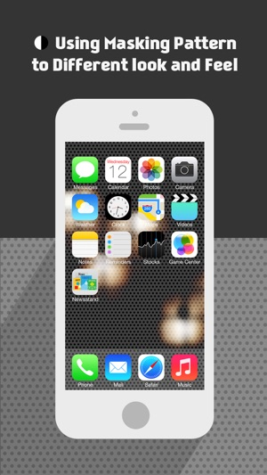 BGMaker Blurred Photo Wallpapers - Custom Backgrounds for iOS 7 (+Valentine's Day  Patterns) Screenshot