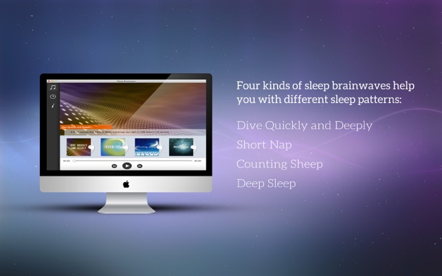 Sleep Brainwave – Naturally Guide You Relax and Fall into Sleep Screenshot