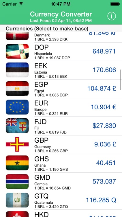 Currency Converter screenshot-4