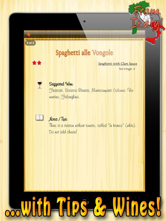 La Pasta HD - The Best Italian Recipes screenshot-4