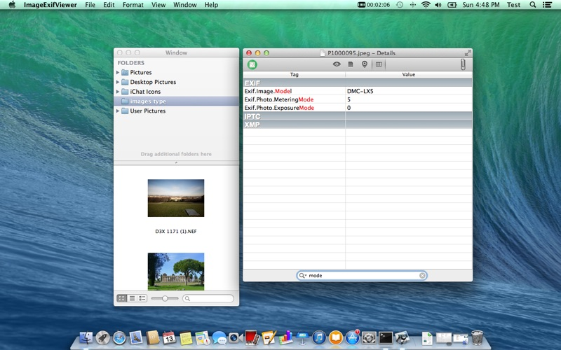 Image Exif Viewer for Mac