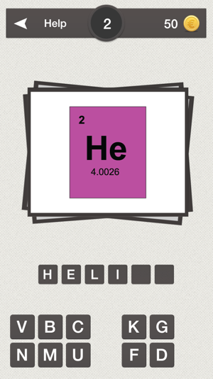 Periodic table quiz do you know the elements on the app store urtaz Images