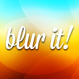 Blur it! for iOS 7