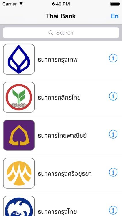 Thailand Bank