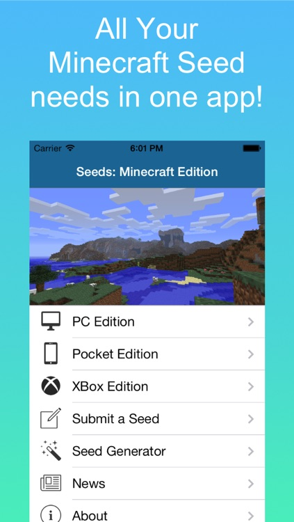 Seeds: Minecraft Edition screenshot-0