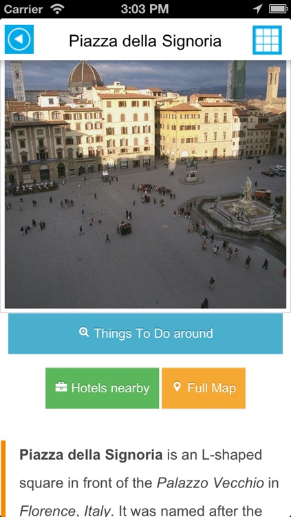Florence (Italy) offline map, guide & hotels screenshot-3