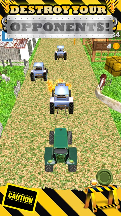 3D Tractor Racing Game By Top Farm Race Games For Awesome Boys And Kids FREE screenshot-3