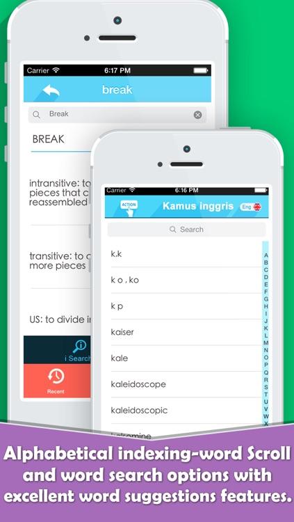 Kamus Inggris Indonesia Edition For iOS 7 screenshot-4