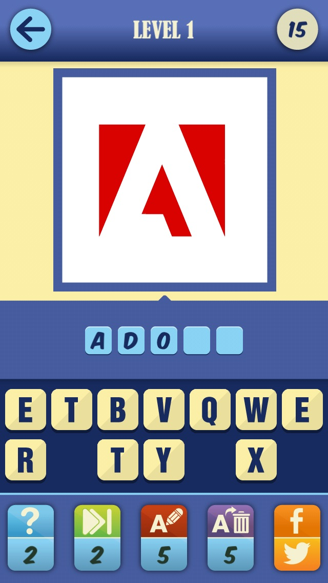 Guess The Brand Game - #1 Logotype pop quiz and trivia to test who knows what's that food, car or fashion company logo! Screenshot