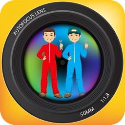 Twins Camera - Auto Stitch clone photos