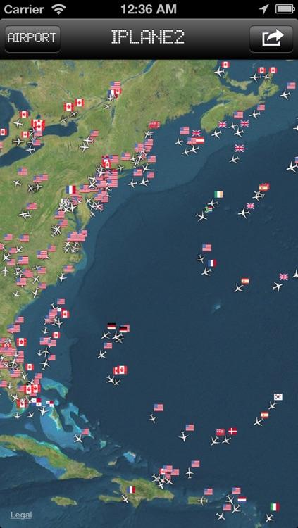 iPlane 2 - Flight Info + Status + Radar Tracker screenshot-3