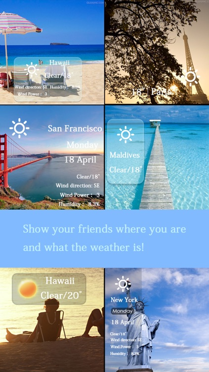 Weathergram -Record Real-time Weather in Your Photo