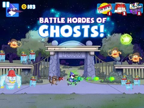 Ghost Toasters tablet App screenshot 1
