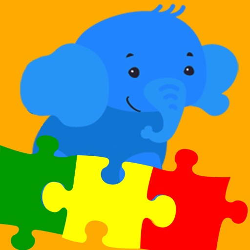 Puzzle Elephant - Early Learning Games For Toddler and Preschooler To Learn Numbers,Alphabet,Colors,Shapes,Basic Skills