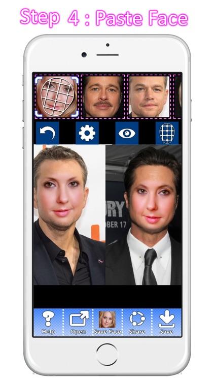 Copy paste face - photo editor screenshot-3