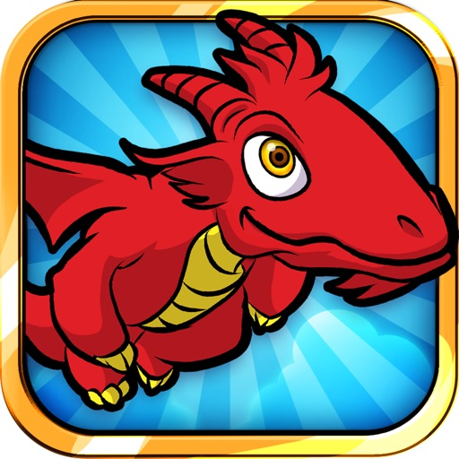 Flying Dragon: Attack of The Fantasy Temple Monsters Free - Easy Kids Arcade by Top Crazy Games
