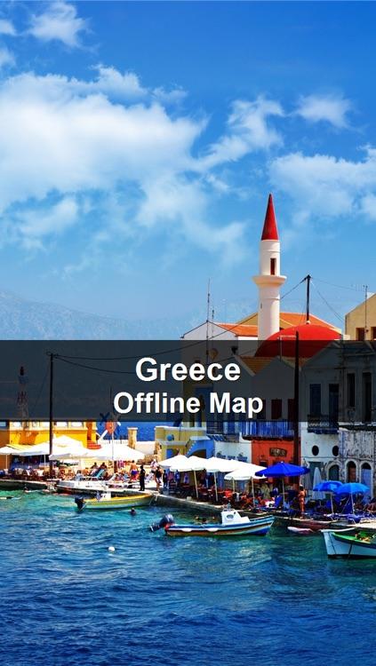 Offline Greece Map - World Offline Maps