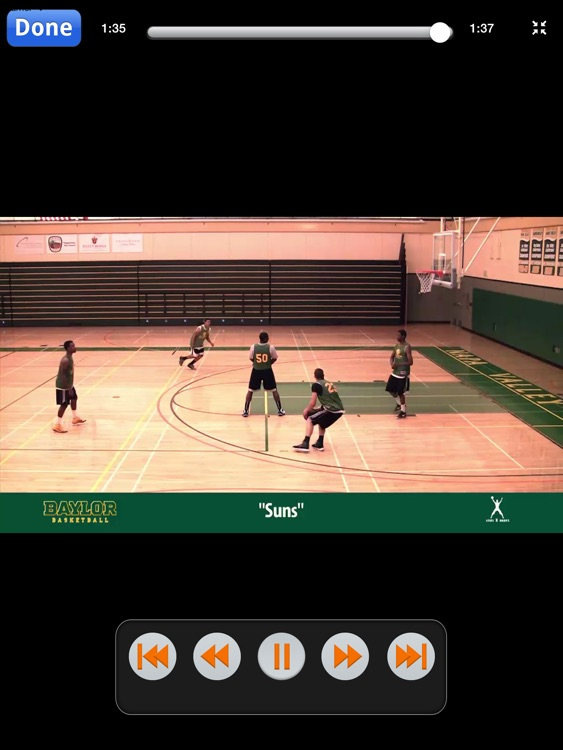 Baylor Bears Zone Quick Hitters: Scoring Plays Against Zone Defense - With Coach Scott Drew - Full Court Basketball Training Instruction - XL screenshot-3