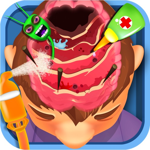 Brain Doctor - Kids free games For Fun iOS App