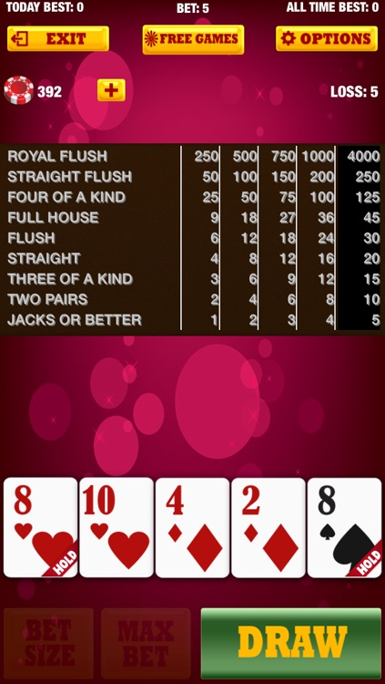 A Joker Video Poker Free Lucky Casino Card Game with Bonus screenshot-3